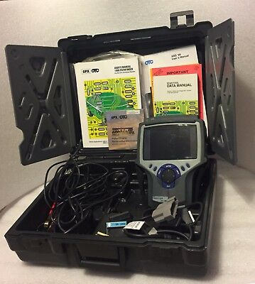 Genisys SPX OTC Automotive Diagnostic Scanner System with Case & Accessories