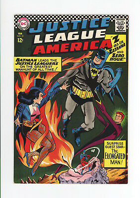 Justice League Of America #51 - Gorgeous Nm 9.4 - Batman, Zatanna Cover - 1967