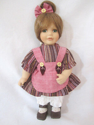 Collectible From Tuss William Tung Approved Little Doll 9""