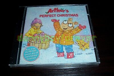 arthur and friends new cd arthurs perfect christmas music from pbs kids special - Arthur Perfect Christmas