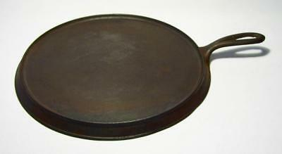 "Vintage Heavy Duty Cast Iron 11"" Round COMAL GRIDDLE (#10)"