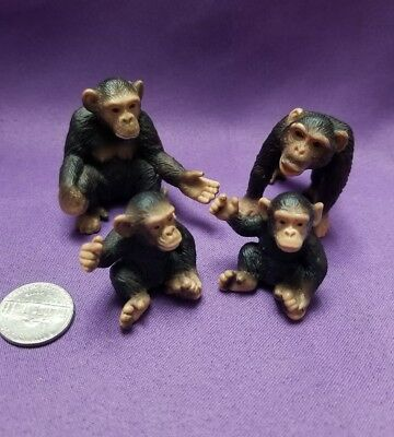 Schleich Monkey Chimpanzee Baby Male Female  # 14192 14191 14189 YFMR