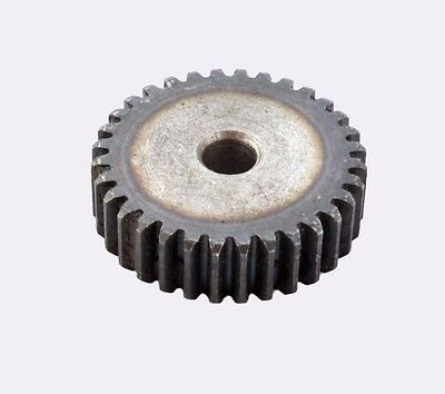 45# Steel Motor Gear 2Mod 10T Spur Pinion Gear Tooth Dia 28MM Thickness 20MM
