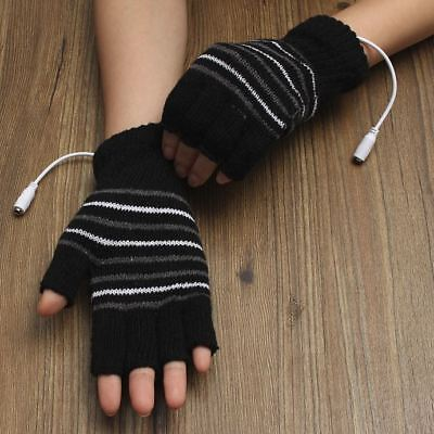 Heated Winter Gloves Warmer Hand Electric Powered Rechargeable Battery Thermo
