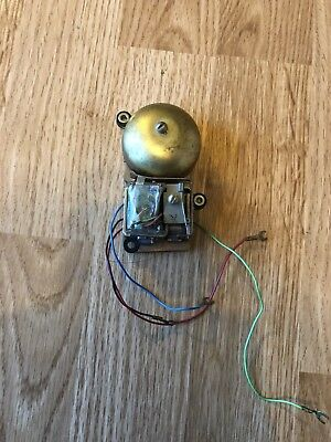 Brass Coloured Electric Doorbell