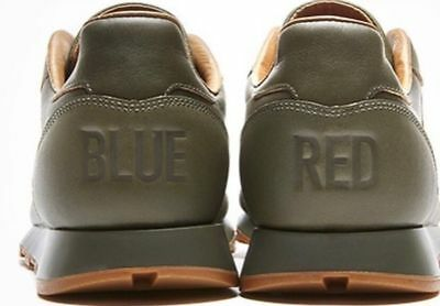 "d18436dfbef Kendrick Lamar Reebok Classic Leather Lux Sneakers ""Red and Blue"