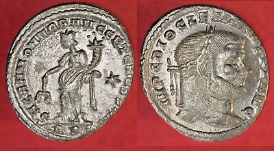 Diocletian Follis Ad284-305, S-3537 Ancient Rome >>>>> Sharp, Amazing Condition!