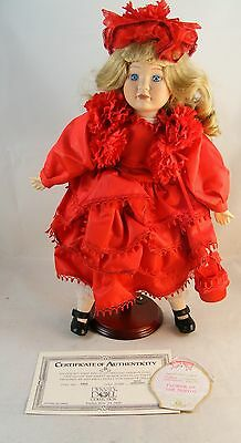 Beautiful Dynasty Porcelain Doll Collection Miss January D835 QUICK SHIPPING!!!