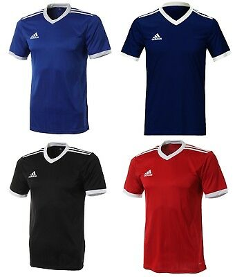 Adidas Youth Tabela 18 Training Soccer Climalite 4 Colors S/S Kid Shirts CE8918