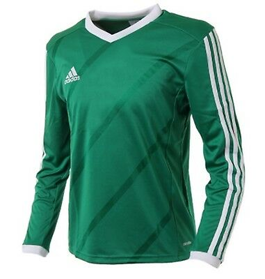 Adidas Youth Tabela 14 Training Soccer Climalite L/S Green Kid Shirts G70677