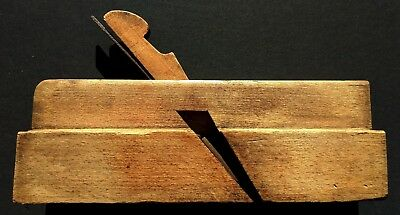 Antique Hall Case & Co. no. 48 Wood Molding Plane Tool Columbus Ohio