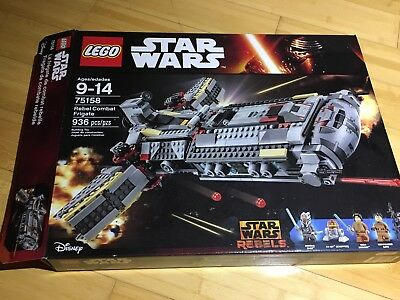 Star New Frigate Lego Rebel Wars No Retired Combat Minisbox 75158 E9HWD2I
