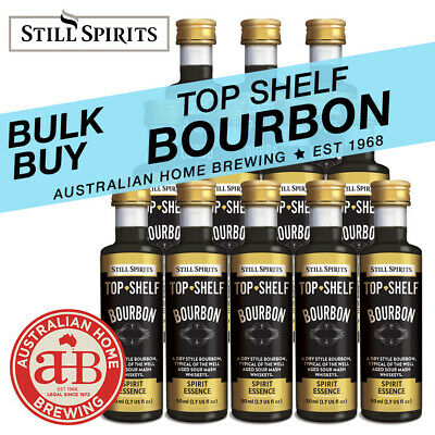 Still Spirits Top Shelf BOURBON essence- SELECT 3, 4, 10, 24 36, 50, 100 PACKS
