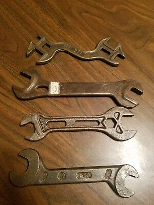 Ihc Ih international harvester farm wrench tool implement plow antique old vtg
