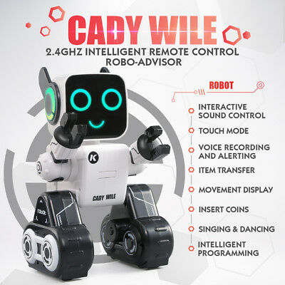 Intelligent RC Remote Control Robot Kids Gifts Accompany Toys Early Education AU