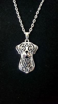 "Rhodesian Ridgeback Dog - Necklace, 18"" chain"