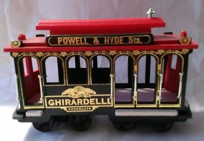 San Francisco Trolley Cable Car Powell & Hyde Sts  Ghirardelli Chocolate