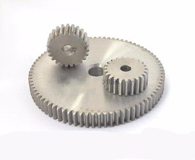 45# Steel Pinion Gear 1 Mod 80T Spur Gears Tooth Diameter 82MM Thickness 10MM
