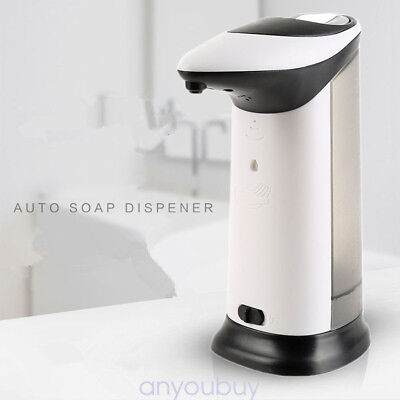 Hot 400MLStainless Steel Hand Automatic IR Sensor Touchless Soap Liquid Dispense