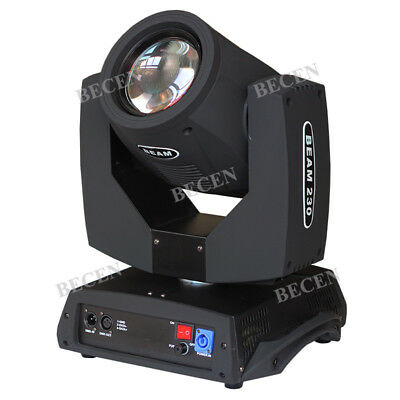 230W 7R Sharp Beam Moving Head Light 24 Prism for Party DJ Stage Lighting 1pcs