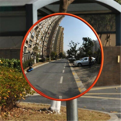 AU 30cm Curved Convex Mirror Road Wide Angle Safety Security Traffic Driveway