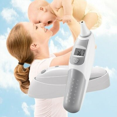 Medical Ear Forehead LED Digital Infrared IR Smart Thermometer For Baby Kids