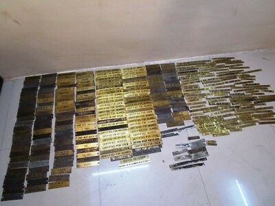 Lot of 300 pcs VINTAGE Marine BRASS Door Sign - SHIP'S 100% ORIGINAL (190)