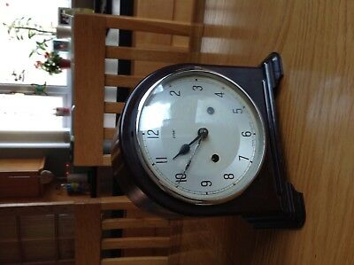Splendid Enfield Bakelite mantle clock perfect order and working perfectly .