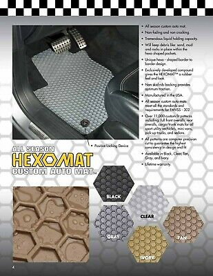 Intro-Tech All Weather Mats w/ OEM fastening system Chevrolet Camaro 1967-17