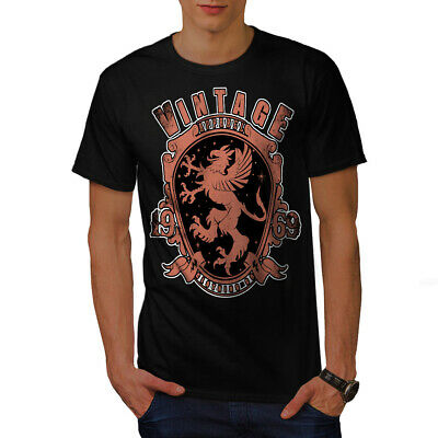 Coat Of Arms Old Vintage Men T-shirt S-5XL NEW   Wellcoda