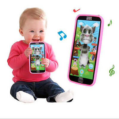 Baby Kids 1pc Baby Simulator Music Phone Touch Screen Children Educational Learn