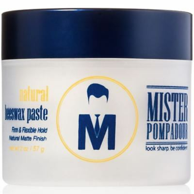 Mister Pompadour Natural Beeswax Paste (57g)