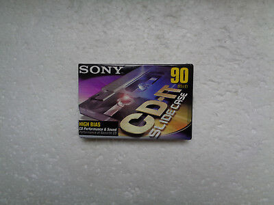 Vintage Audio Cassette SONY CD-IT 90 * Rare US Model 1999 *