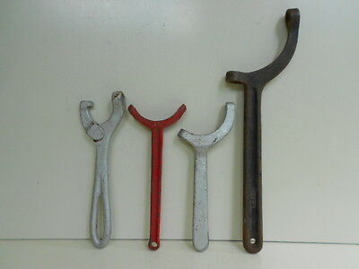 Vintage Fire Hose/Hydrant Spanner Wrenches 4 Pieces