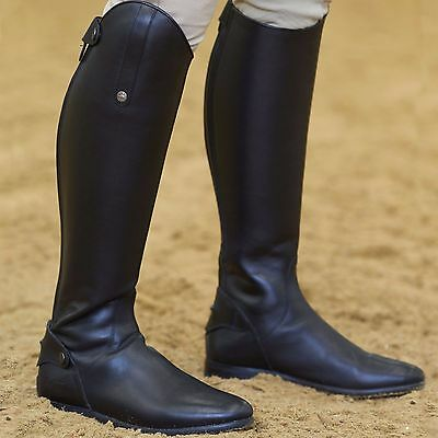 Mark Todd Long Leather Competition Boots 39 Wide