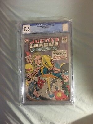 Justice League Of America # 29 CGC 7.5 1st Appearance Crime Syndicate