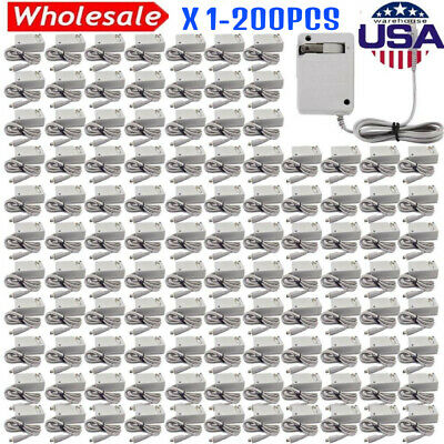 LOT 1-200pcs AC Wall Home Charger Power Adapter FOR Nintendo 3DS NDSi DSi LL XL