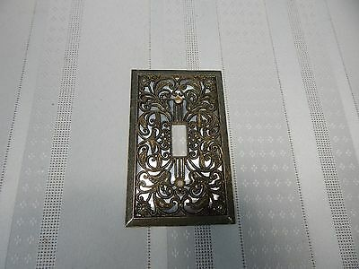 Vintage! Brass Victorian Light Switch Covers