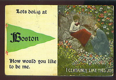 Lots doing at Boston How would you like to be me. - I CERTAINLY LIKE THIS JOB -