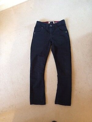 Next Boys Black Skinny Jeans Aged 10 Years, Height 140cm