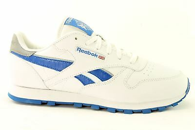 REEBOK CLASSIC LEATHER Reflect V70194 Juniors Trainers~SIZE