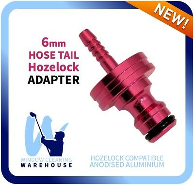 6mm Hose Tail to Hozelock Adapter - Water Fed Pole Accessory