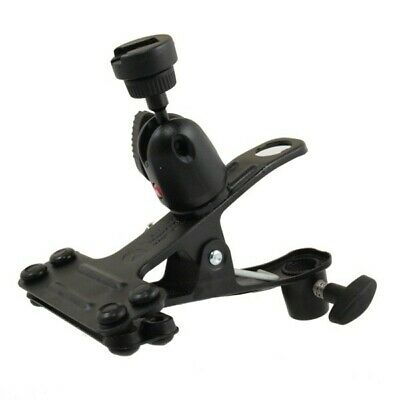 Manfrotto 175F-1 Spring Clamp w/ SHOEFLASH With Ball Head 0 5/8in Spiggot Peg
