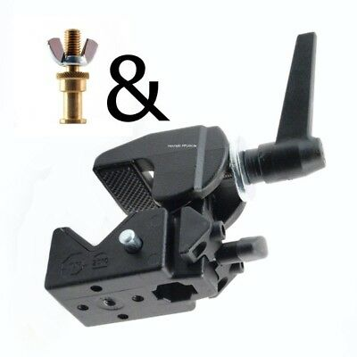 """Manfrotto Bundle 035 Superclamp & 264 Mini Tv Pin (5/8 """") with 25mm M10 Thread"""