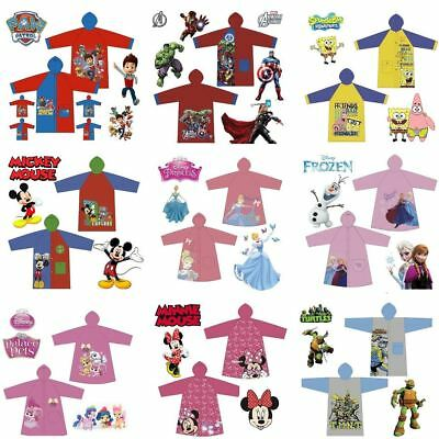 School Children Cartoon Waterproof Hooded Rain Coat Jacket Poncho Raincoat