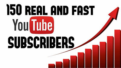 150+ YouTube Subs   Real And Active   High Quality   Life Warranty   100% Legit