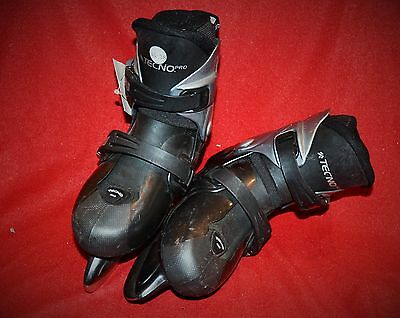 * Patin A Glace Patinage Hockey * Technopro * S.a.s T.35-38 A14 Occasion Bon Éta