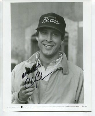 CHEVY CHASE autograph HAND SIGNED 4069