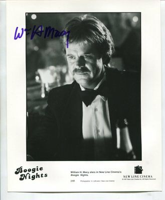 WILLIAM H MACY autograph HAND SIGNED 4075