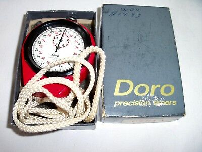 Medalist Doro Analog Stopwatch | Top-Of-The-Line Model Water/magnet/shock Proof